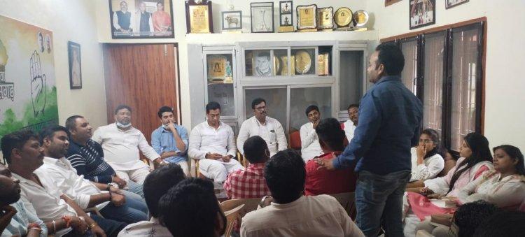 भूपेश के राजीव युवा मितान क्लब को राज्य में हर बूथ तक पहुचाने युवा विधायक देवेंद्र यादव ने उठाया बीड़ा